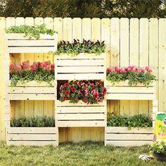 How to Make a Vertical Garden Wall | Garden Club