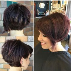 Short hairstyles for women are |