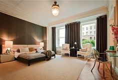 Appartment in Upper West Side, New York #bedroom