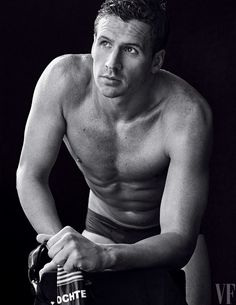 Ryan Lochte. The 2016 Olympics Portfolio, Photographed by Sam Jones
