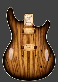 Warmoth Custom Guitar Products - Carved Top VIP Guitar Body