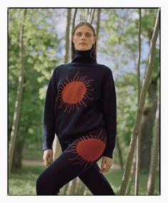 Adina Fohlin by Jeff Ihatsu for Punkt Model Test, Fashion Advertising, Fashion News, Fashion Photography, Editorial, Turtle Neck, Graphic Sweatshirt, Street Style, Sweatshirts
