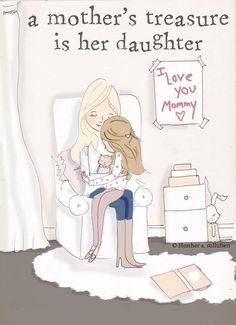 For my daughter... she is my heart <3
