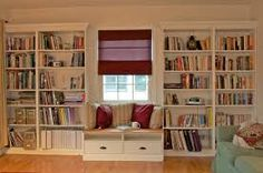 bookshelves with desk built in - Google Search