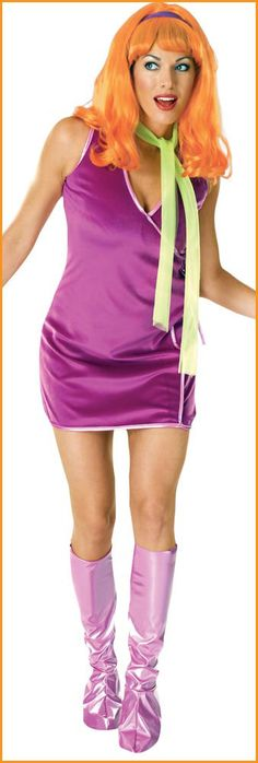 Scooby daphne doo adult costume