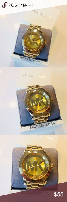 Watch Michael Kors I only have one watch Michael Kors for men I don't have receipts Includes box Michael Kors Accessories Watches