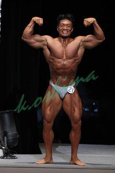 Aikawa Koichi (相川 浩一, Japanese Bodybuilder) at Japan National Competition