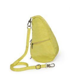 Textured Nylon Citron Baglett   The Healthy Back Bag