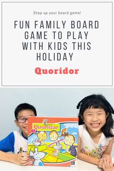 Quoridor Board game that is suitable for kids and family. It improves logical thinking and problem-solving skills. Read on to find out what how fun it is!