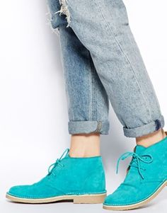 Image 4 ofASOS ARMY Suede Ankle Boots