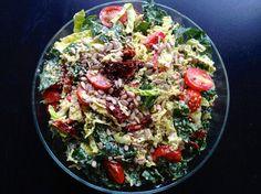 Creamy Kale & Cabbage Salad