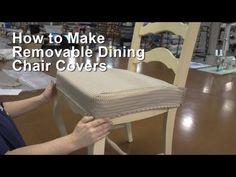 ▶ Faire une housse pour son fauteuil - DIY déco - YouTube