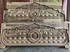 Wooden Main Door Design, Modern Wooden Doors, Room Door Design, Bedroom Bed Design, Bedroom Furniture Design, Box Bed Design, India Home Decor, Bedroom Cupboard Designs, Bed Frame And Headboard