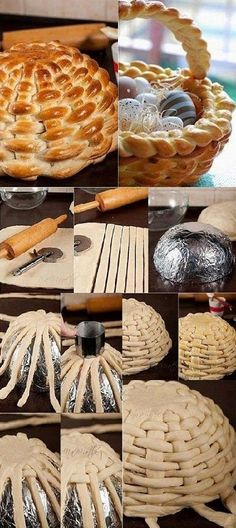 Braided Bread Basket Recipe
