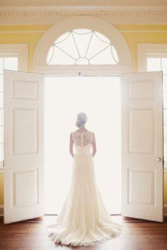 I love back wedding dress pictures