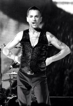 Dave Gahan.  That tongue again