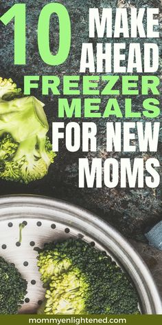 Here are ten simple make ahead freezer meals to prepare in the third trimester of pregnancy! ALL of these meals can be eaten with one hand. You will spend a lot of your time juggling your precious bundle of joy, so having food you can eat while holding your baby is incredibly beneficial. Congrats!