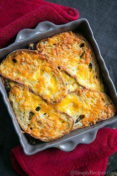 Kale, Mushroom, and Cheddar Bake Recipe | Simply Recipes