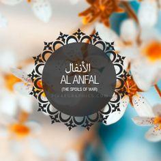 Al Anfal Surah graphics