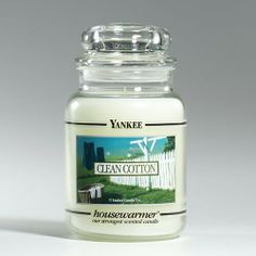 Clean cotton yankie candle