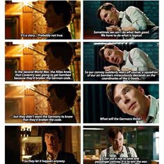 I see why Benedict was cast as Alan Turing