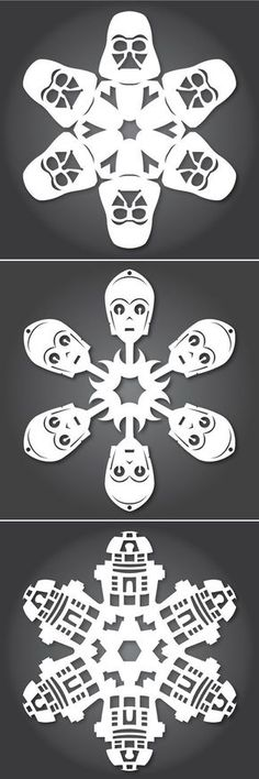 How to Make Star Wars Snowflakes More