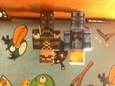 Minecraft Papercraft;Minecraft Universe and SkydoesMinecraft