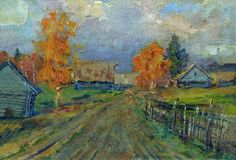 autumn landscape...by Isaac Levitan