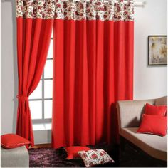 Ruby Solid Curtains- Nurturing your confidence and bringing back those lost memories of happiness and joy.