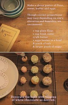 "How to make the Mendl's treats in ""The Grand Budapest Hotel."""