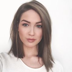 Ashy Asymmetrical Lob (Long Bob)