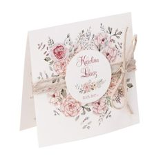 Zaproszenia ślubne Florals w2