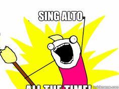 I Love Singing Alto Coffee Mug   Zazzle