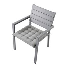 $55 FALSTER Chair With Armrests, Outdoor   Gray,     IKEA