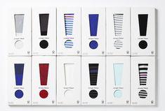 JT3M-R | JungleTokyo great socks #packaging PD Scarf Packaging, Tea Packaging, Brand Packaging, Packaging Ideas, Design Packaging, Bottle Packaging, Underwear Packaging, Clothing Packaging, Designer Socks