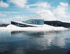 The beautiful Oslo Opera by Snøhetta, through the lens of Jens Passoth.