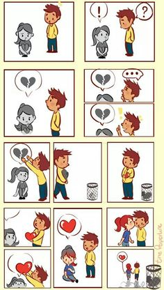 New Funny Love Drawings Beautiful Ideas Cute Couple Comics, Couples Comics, Funny Couples, Cute Anime Couples, Couple Cartoon, Relationship Comics, Funny Drawings, Cute Love Drawings, Sad Art