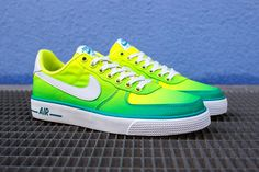 NIKE AIR FORCE 1 AC BR QS (TURBO GREEN) | Sneaker Freaker