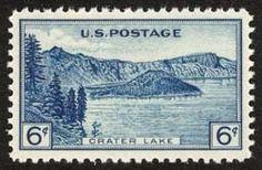 1934 6c Crater Lake National Park Scott 745 Mint F/VF NH  www.saratogatrading.com