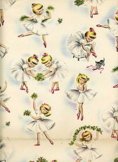 vintage wrapping paper by Snickerpuss, via Flickr