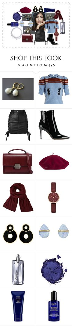 September 15 by crystalglowdesign on Polyvore featuring Miu Miu, Versus, Gianvito Rossi, Yves Saint Laurent, Melissa Joy Manning, Skagen, John Lewis, Pat McGrath, Cartier and Kiehl's