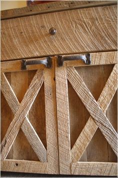 Rustic Barn Wood Kitchen Cabinet | Core Information Home Decoration