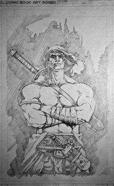 Conan about to be inked by dimitriskoskinas on DeviantArt