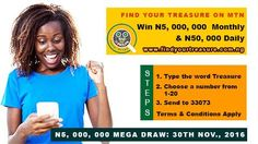 lawbiola: Win Big with Find Your Treasure Promo!!!