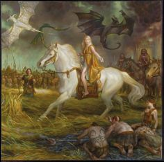 Donato Giancola: Daenerys - A Song of Ice And Fire 2015 Calendar Cover Art