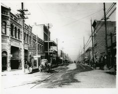 Events | ChattanoogaNow. East Main Street, looking west at Rossville Avenue, 1906. Courtesy of the Chattanooga History Center.