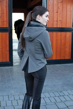 Love this coat for riding the horses!