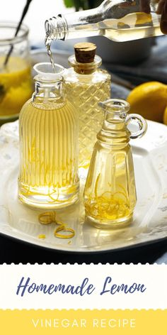 Homemade Spice Blends, Homemade Spices, Spice Mixes, Lemon Icebox Pie, Distilled White Vinegar, Lemon Recipes, Side Dishes Easy, Yummy Eats, Food Dishes