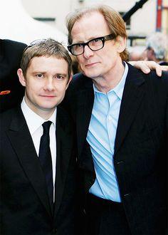 https://flic.kr/p/hhoRRS | miwakosher: [ actors hanging out together ] 115/∞ Martin Freeman & Bill Nighy 可愛い二人でさらに可愛いとかもうもう | Posted from quickmultiball.com