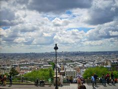 The view from the front of Sacre Coeur in Montmartre - 5 of the Best Views from Above in Paris - The Trusted Traveller